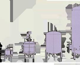 Rezervoare din otel inoxidabil pentru industria alimentara